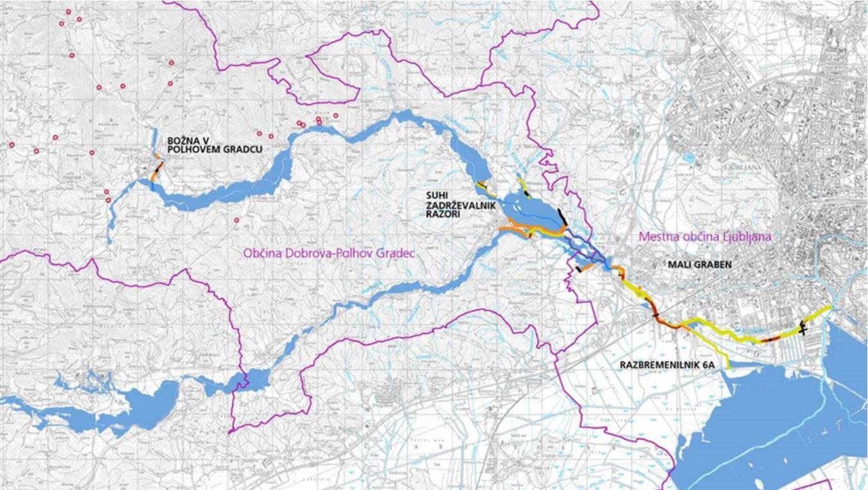 Mapa poplavno območje